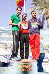 Iván Pajuelo, Campeón de España 50 km de Marcha
